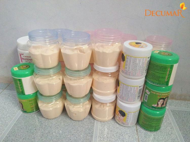 Các loại kem trộn không rõ nguồn gốc hoàn toàn có thể chứa Corticoid