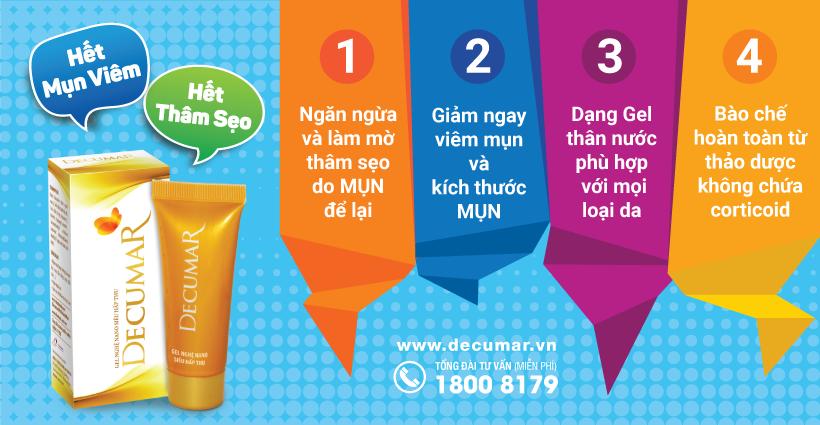 5 cách trị thâm mụn bằng nguyên liệu tự nhiên đơn giản, hiệu quả   Decumar