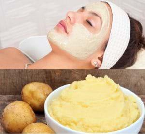 Mặt nạ khoai tây không chỉ trị thâm mà còn nuôi dưỡng làn da rất tốt.