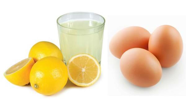 Trị mụn bằng chanh kết hợp trứng gà đem lại hiệu quả trị mụn