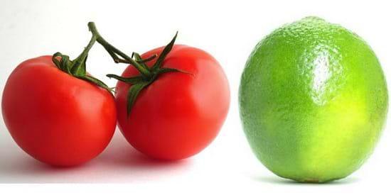 Trị mụn bằng chanh kết hợp cà chua đánh bay mụn bọc