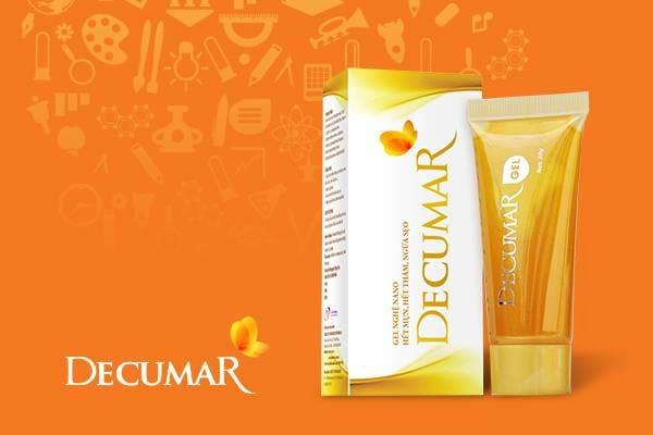 Decumar giúp trị mụn hiệu quả, an toàn và nhanh chóng
