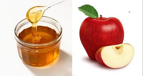 Mặt nạ trị mụn bằng táo và mật ong cho da nhờn, trị mụn hiệu quả đem lại cho da sáng, đánh bay nhờn và nhân mụn