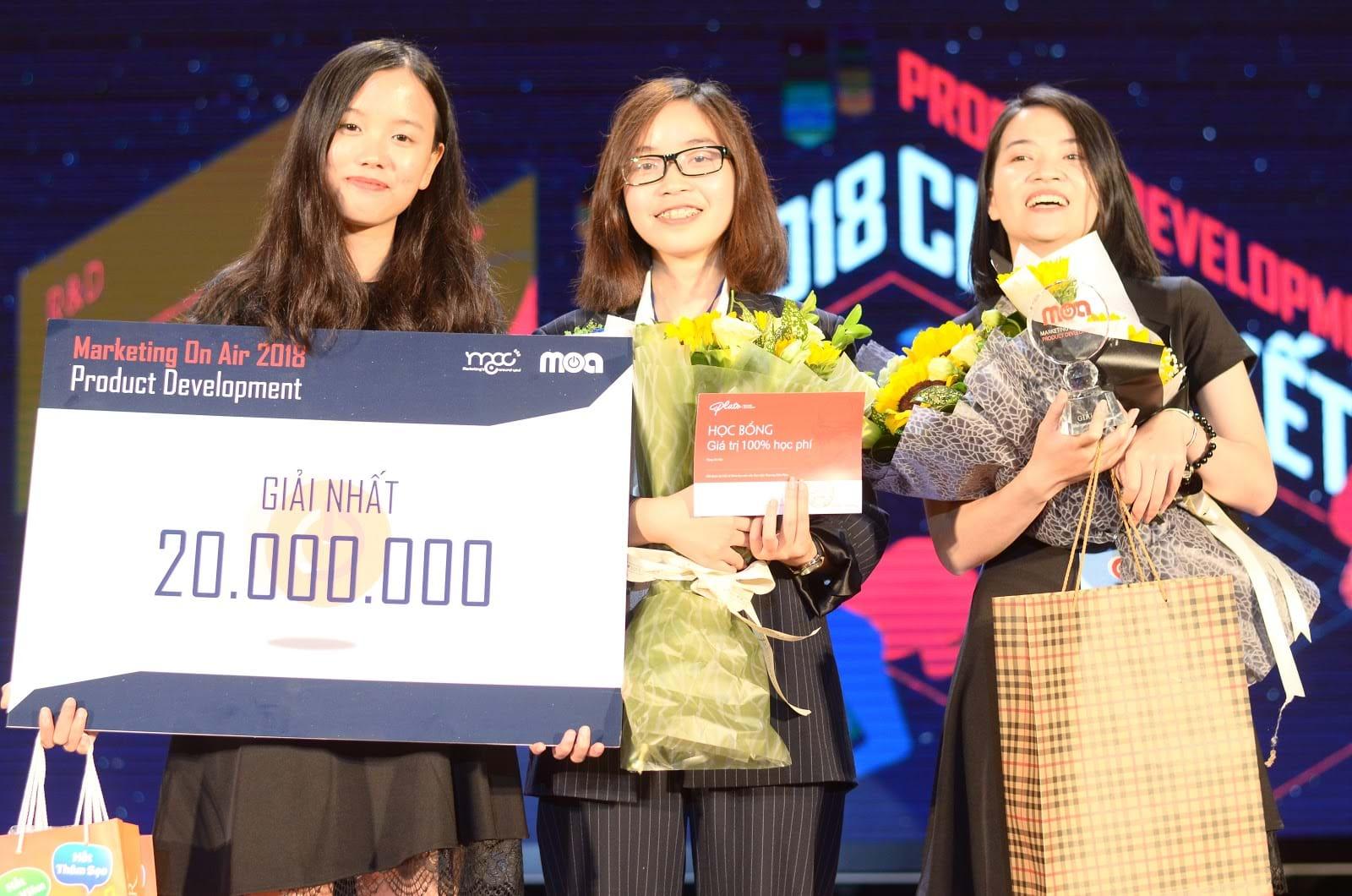 Bất ngờ với ngôi vị quán quân cuộc thi Marketing On Air 2018