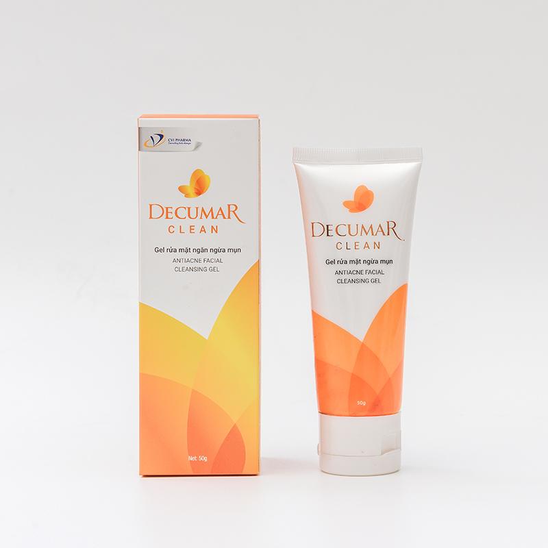 Gel rửa mặt – Decumar Clean 50g