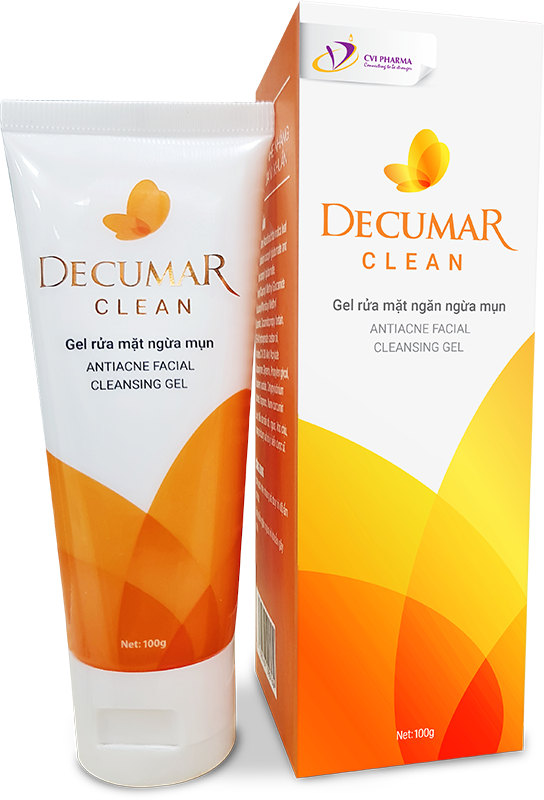 Gel rửa mặt ngừa mụn Decumar Clean (100g)