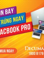 Mụn bay – Trúng ngay Macbook Pro