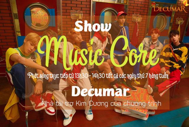 Decumar – Nhà tài trợ Kim Cương 'đấu trường âm nhạc' Music Core đỉnh cao