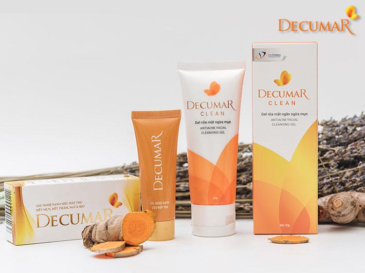 Decumar là dòng sản phẩm trị mụn, dưỡng ẩm cho da được nhiều chị em tin dùng