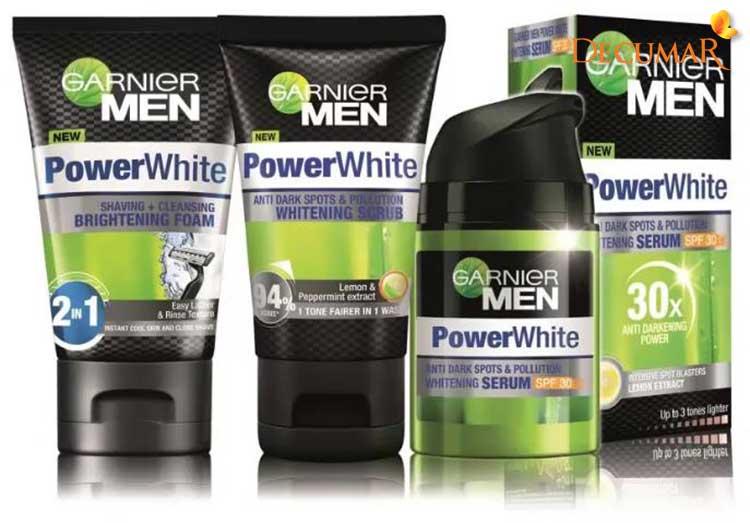 Sữa rửa mặt ngừa mụn cho nam giới Garnier Men