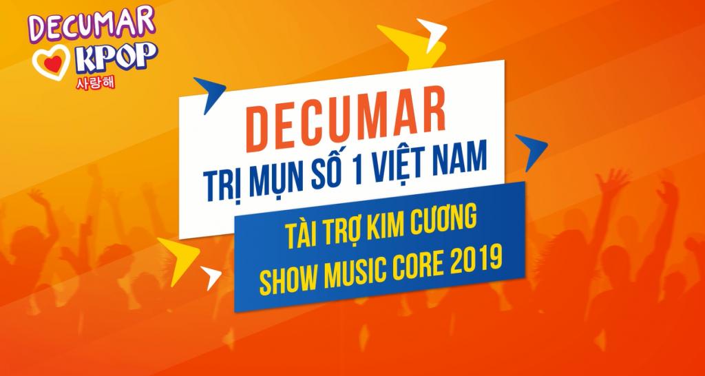 Vé mời tham dự miễn phí Music Core Vietfans Festival K-Pop 2019
