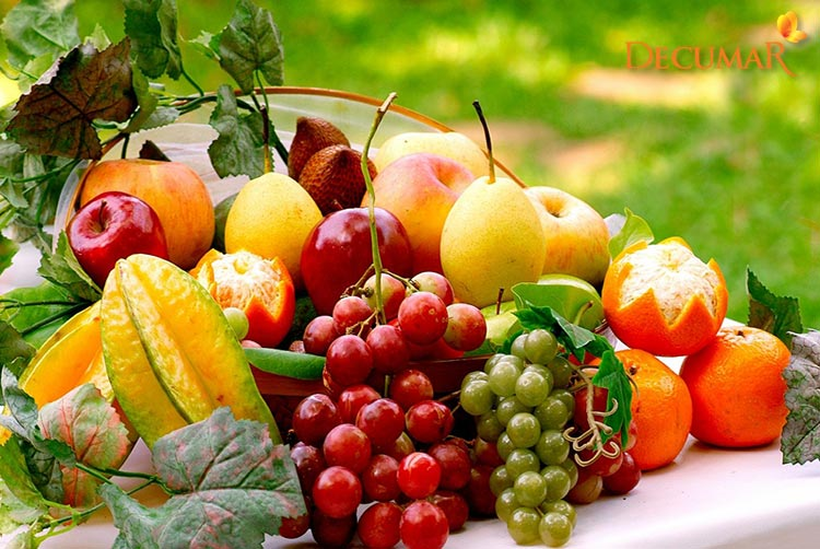 Ăn hoa quả khi bị nổi mẩn