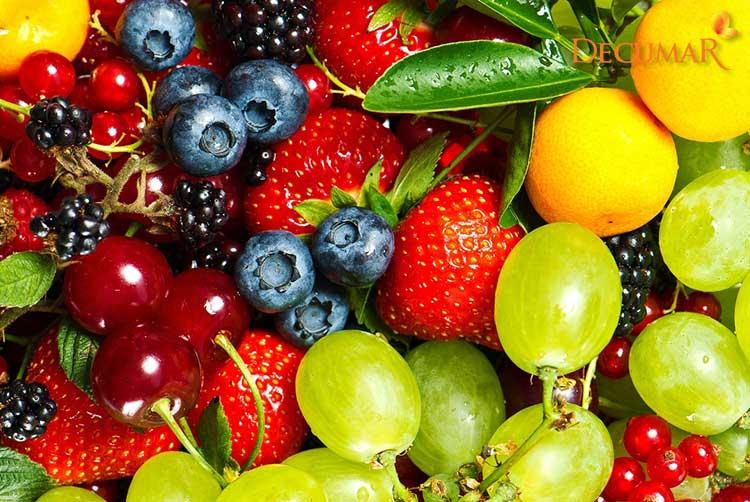 Ăn nhiều trái cây khi bị mụn ẩn