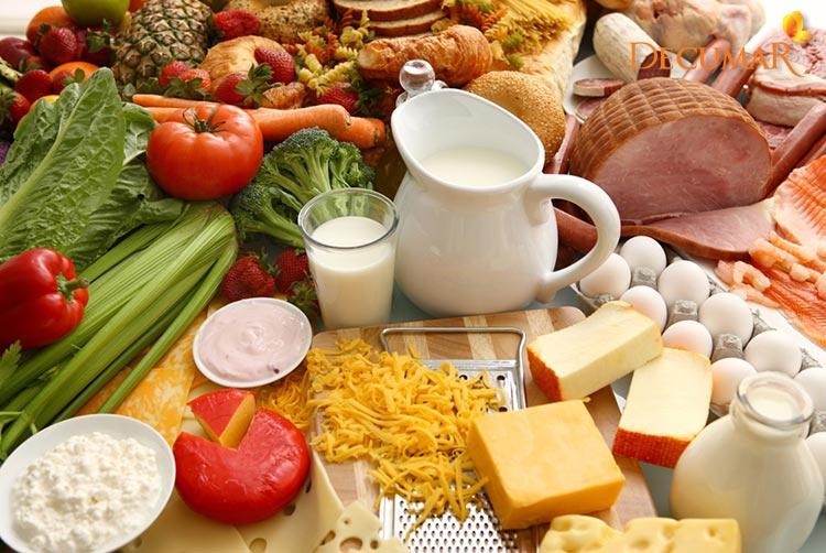 Chế độ ăn trong quá trình phục hồi da đầu bị trầy xước