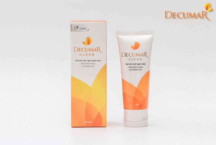 Decumar Clean - Dòng sữa rửa mặt chuyên trị dành cho da mụn