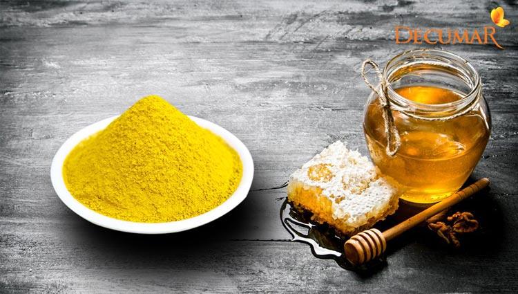 Tinh bột nghê và mật ong