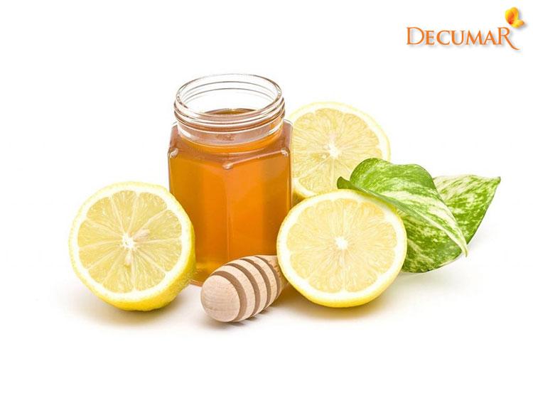 Mặt nạ chanh và mật ong trị mụn viêm