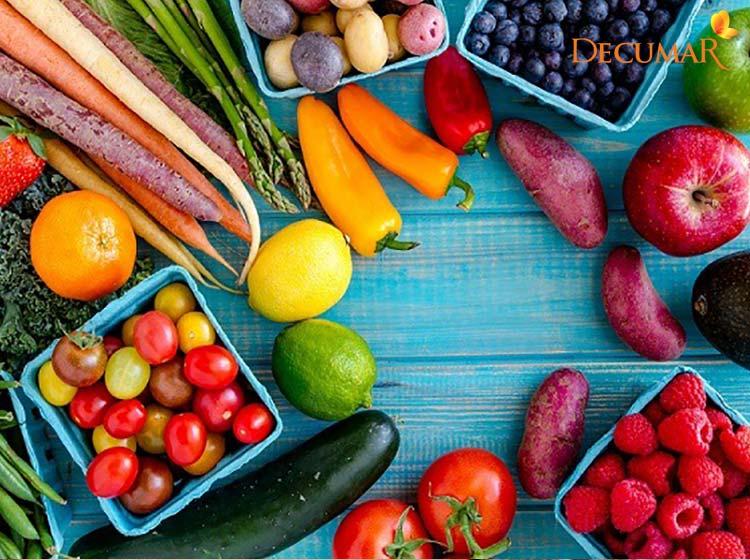 Duy trì chế độ sinh hoạt, ăn uống lành mạnh cũng là cách trị mụn viêm dưới da hiệu quả