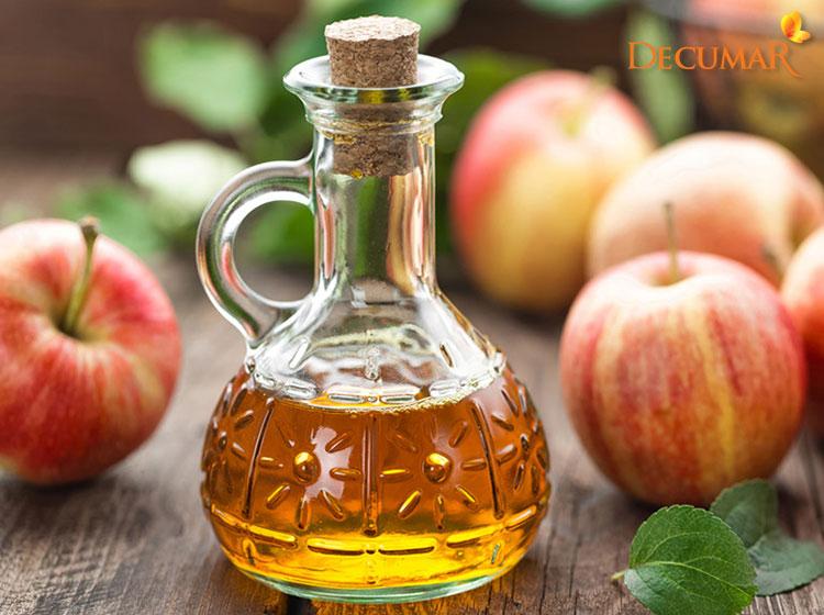 Giấm táo làm Toner