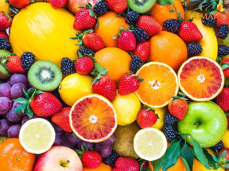 Ăn trái cây để da phục hồi