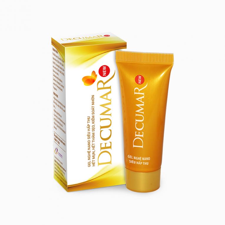 Decumar New - dòng sản phẩm chuyên trị cho các vấn đề trên da như mụn, sẹo thâm...