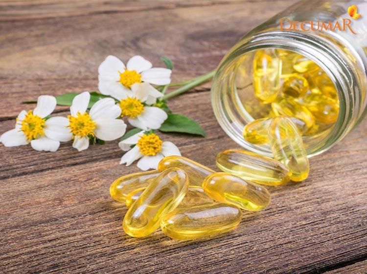 Trị sẹo thâm bằng phương pháp tự nhiên với Vitamin E