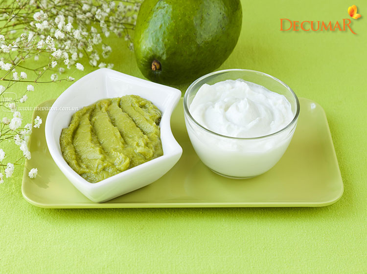 Sử dụng Bơ và sữa chua trị sẹo thâm côn trùng cắn