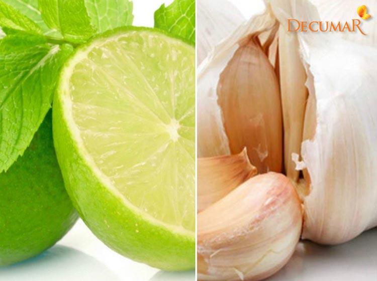 Chanh và tỏi, những nguyên liệu trị sẹo thâm trong nhà bếp mà ít ai biết tới
