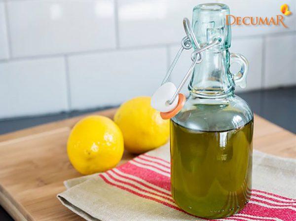 Công thức dầu oliu và chanh trị sẹo thâm