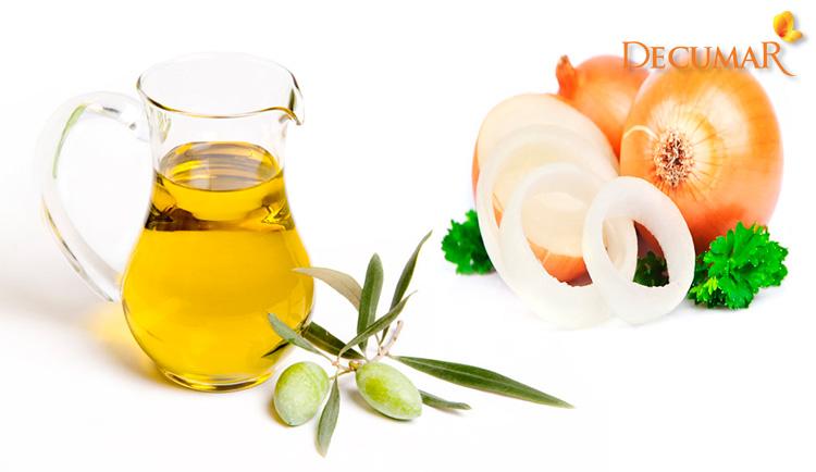 Dùng dầu oliu và hành tây trị sẹo thâm