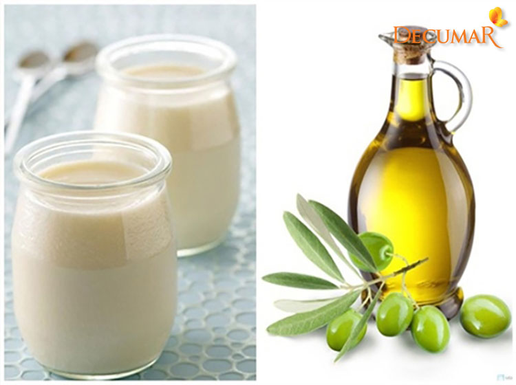 Dầu oliu và sữa