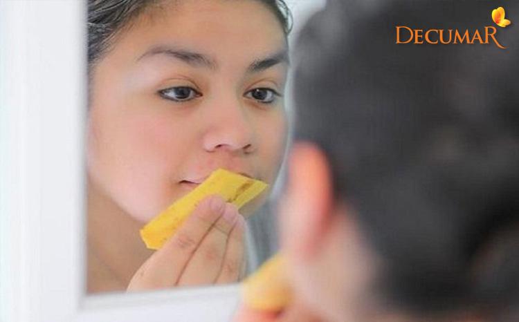 Mẹo trị sẹo thâm bằng phương pháp dân gian dùng vỏ chuối