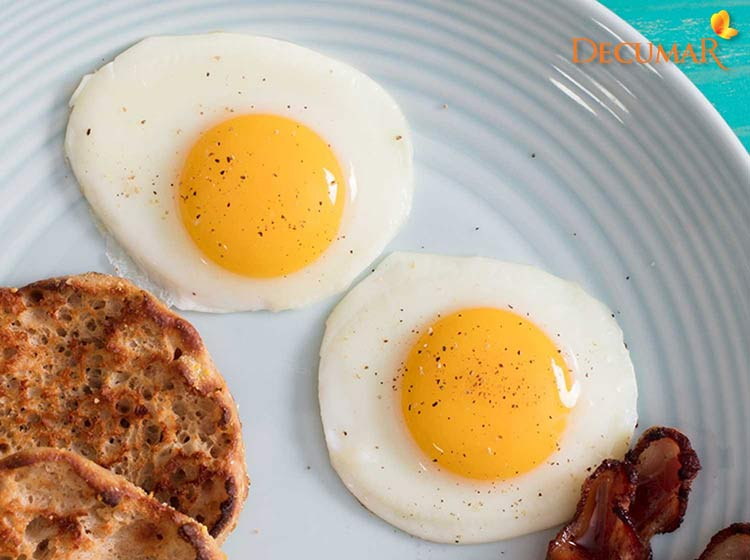 Kiêng ăn trứng khi trị sẹo thâm