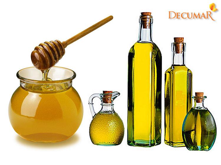 Mật ong và dầu oliu