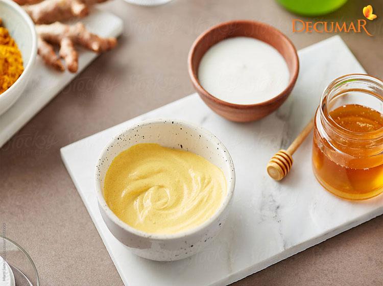 Công thức mật ong, nghệ và sữa chua trị sẹo thâm lâu ngày