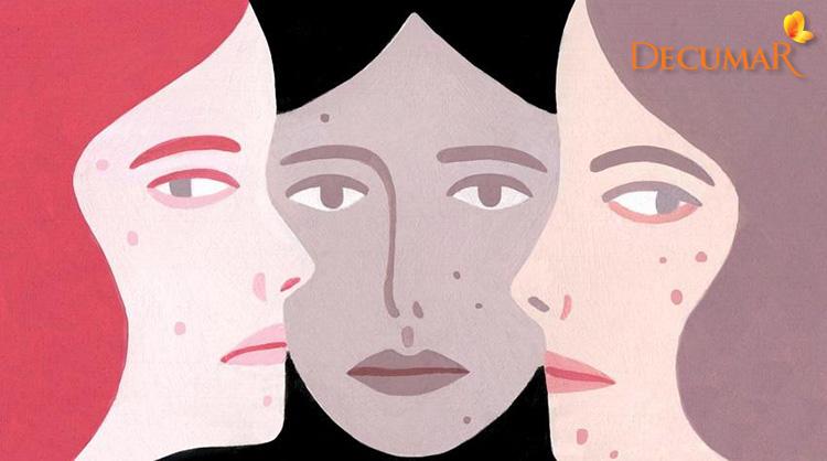 Vết sẹo thâm đen lâu ngày trên mặt