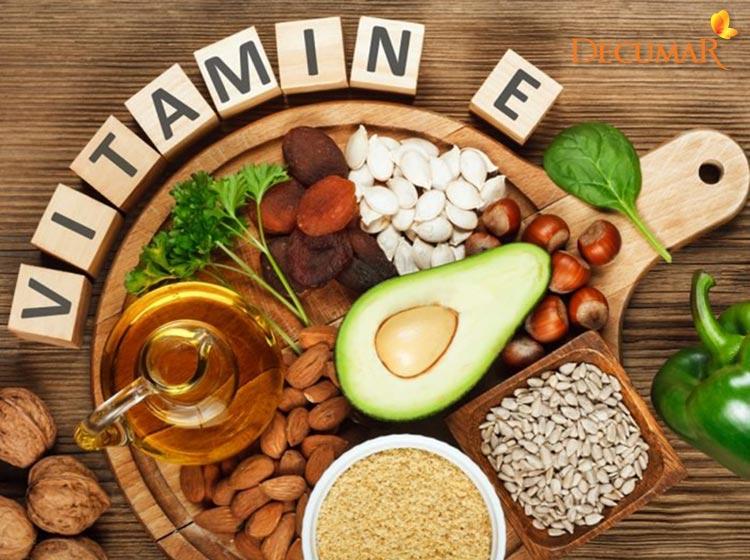 Thực phẩm chứa Vitamin E