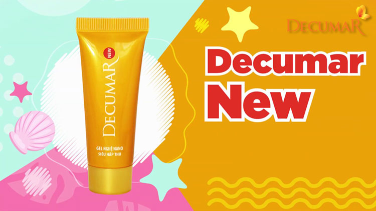 Gel trị mụn Decumar New an toàn cho da