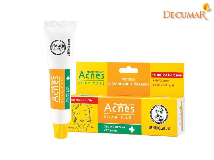 Kem Acnes Scar Care giúp điều trị mụn và thâm trên da rất tốt