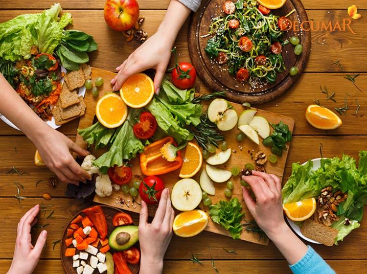 Thực phẩm giúp trị thâm sẹo sau mụn