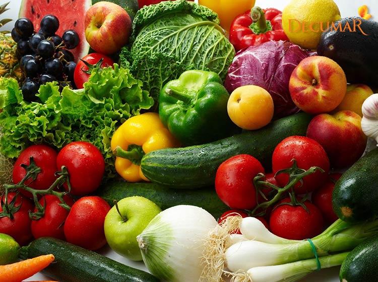 Rau củ là câu trả lời cho trị mụn viêm nên ăn gì