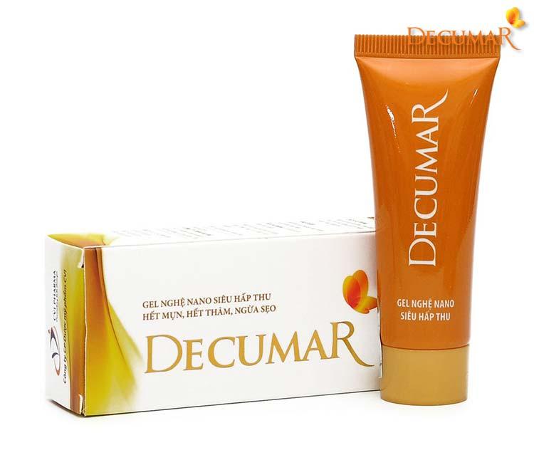 Gel Decumar với tinh nghệ nano, giúp trị thâm chỉ trong 1 tuần