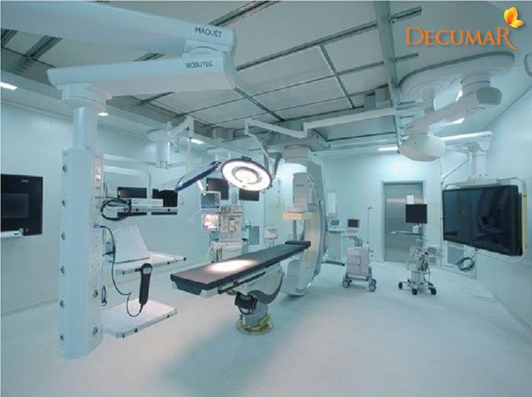 Cơ sở vật chất phù hợp để áp dụng phương pháp lăn kim trị sẹo thâm rỗ
