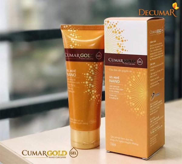 Cumargold Gel - sản phẩm chuyên trị dành cho các trường hợp bị sẹo, thâm , nám...