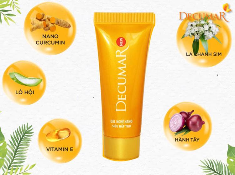 Decumar New - sản phẩm giúp trị sẹo thâm cũng như giải quyết các vấn đề trên da hiệu quả