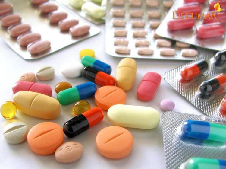 Các loại thuốc kháng sinh giúp trị mụn