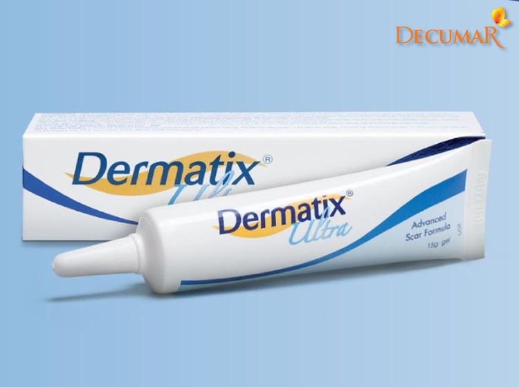 Gel trị sẹo thâm hiệu quả Dermatix Ultra