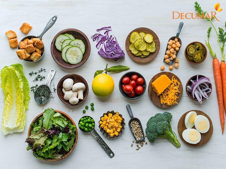 Chế độ ăn uống khoa học giúp trị mụn hiệu quả