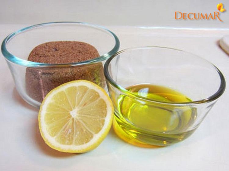 Mặt nạ dầu dừa, chành và đường cát