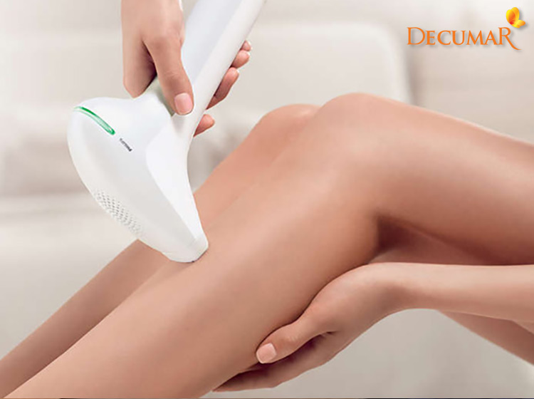 Công nghệ laser sử dụng các tia bước sóng tần số cao để điều trị sẹo thâm lâu năm ở chân